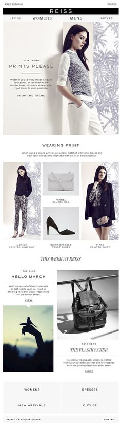 Spring Style: Prints Please + The Luxe Backpack | Awesome Screenshot