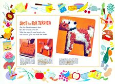 *BamWorks Blog*: Recipe Romp ~ Spot the Fox Terrier Cake