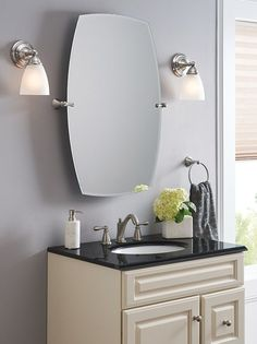 nice The Moen Rockcliff mirror gives you endless flexibility—tilting with your ever... by http://www.dana-home-decor.xyz/home-improvement/the-moen-rockcliff-mirror-gives-you-endless-flexibility-tilting-with-your-ever/