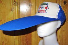 Long Bill Trucker Hat Original Vintage 80s MEMBER by HatsForward