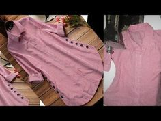 in this video you learn designer kurti shirt cutting and stitching in very easy way. you make designer kurti at home with this cutting and stitching so keep . Sleeves Designs For Dresses, Dress Neck Designs, Blouse Designs, Kurti Patterns, Dress Sewing Patterns, Clothing Patterns, Short Kurti Designs, Kurta Designs Women, Kurta Neck Design