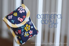 Mommy by day Crafter by night: Camera Cozy Tutorial