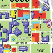 Campus Map Iupui This City Is My City Pinterest Campus Map