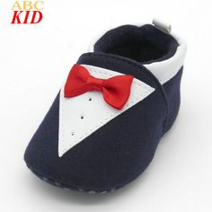 Spring Autumn Baby Boys Shoes Gentleman Bow Tie Design First Walkers Infants Casual Shoes Baby Sneakers Toddler Footwear KD753 #Affiliate