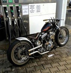 Shovelhead | Bobber Inspiration - Bobbers and Custom Motorcycles | theroadyeah August 2014