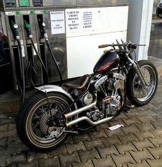 Shovelhead | Bobber Inspiration - Bobbers and Custom Motorcycles | theroadyeah August 2014