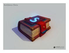 Spell book by lenaskampararas on DeviantArt
