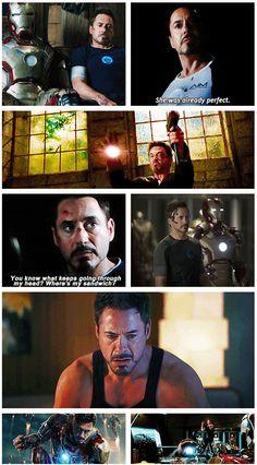Iron Man 3 - Where's my sandwich? lol