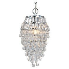 You should see this 1 Light Mini Chandelier in Chrome on Daily Sales!