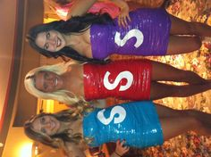 You're favorite candy. Abc Party Costumes, Group Halloween Costumes, Girl Costumes, Costume Ideas, Anything But Clothes Party, College Girls, College Life, Party Wear, Party Party