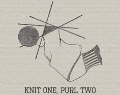 knitting clipart – Etsy