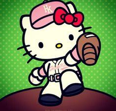 Hello kitty deportista