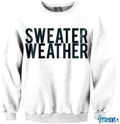 Sweater Weather Crew Neck - Fresh-tops.com