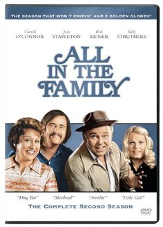 Shop All in the Family: The Complete Second Season Discs] [DVD] at Best Buy. Find low everyday prices and buy online for delivery or in-store pick-up. Jean Stapleton, Sally Struthers, Carroll O'connor, Norman Lear, Archie Bunker, Redd Foxx, Sanford And Son, Taboo Topics, All In The Family