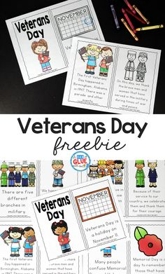 Veterans Day Freebie posted by Jennifer-This Veterans Day Emergent Reader will be the perfect addition to your lesson plans. This is perfect for pre-k, kindergarten, and first grade students. Veterans Day For Kids, Free Veterans Day, Veterans Day Activities, Holiday Activities, Veterans Day Elementary, Kindergarten Social Studies, Kindergarten Lesson Plans, Kindergarten Worksheets, Kindergarten Activities