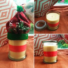 Emily Makes ... Christmas Spice & Mulled Wine Soy Wax Candle / Burn Time Between 100 - 120hrs!