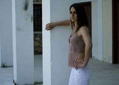 Bohemian Top by Nicole Karali Knitwear