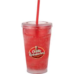 Make great summer giveaway with Cool Gear Sedici Chiller Tumblers with Straws! #customtumbers #promotionalproduct #summergiveaway