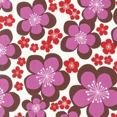 ORGANIC Orchid blooms by Nancy Mims from the by MonadnockFabric, $9.50