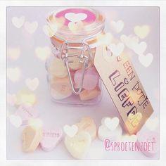 💕Een potje liefde!💕 Cadeautje voor mijn swapmaatje 😃✨