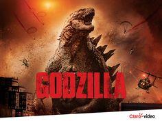 Godzilla: uma estreia que acaba com tudo o que vê pela frente. Alugue este mês, no Claro video.