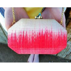 #alewalsh #summer #clutch Color color color!!! Love this summer clutch with turquoise closure plated in 24ct gold. Buy online at www.alewalsh.com Red Coral, Turquoise, Cherry On Top, Summer Colors, Spring Summer 2015, Summer Collection, Ss, Vibrant, Romantic