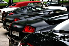 Veyron, Murcielago's, Ferrari California, & RR Phantom