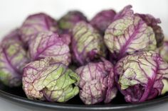Red Rubines (Brussels sprouts)
