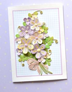 100% Handcrafted - 11 cm x 15 cm sized card with tender stylized Summer flowers in pastel colors, perfect for framing and, or wall art, this greeting card will make every occasion special, like birthday, anniversary or wedding, this greeting card also will emphasize particular