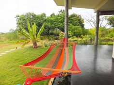 Multicolor Hammock!  A short, mid-day power nap can be so refreshing! Have you tried it in a hammock? Shop @ http://goo.gl/cTVojj