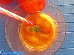e-mama.gr | Γρανίτα ροδάκινο με αρωματικά φύλλα - e-mama.gr
