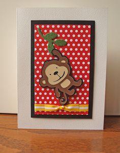 обезьянки открытки своими