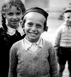 Black and White Photography by Roman Vishniac . Joy on the eve of destruction.