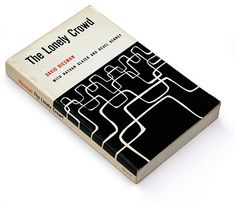 The Lonely Crowd, 1961 book cover design | Book Worship™