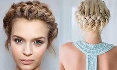 Znalezione obrazy dla zapytania korona fryzura