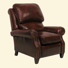 Churchill ll Leather Recliner