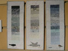 This is the work of Sheena Norquay, a quilter from Scotland,