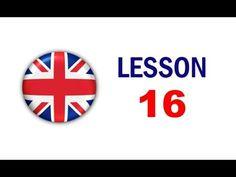Kurz angličtiny pro samouky: Lekce 16 - YouTube English Speech, English Story, Teaching English, Learn English, Oxford English, Voice Of America, Safety Posters, American Story, Free Printable Worksheets