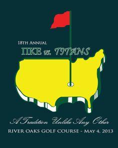 Golf Tournament Shirt designed by Emily Clark