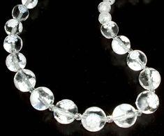 Glitzernde klar und weiß Murano Millefiori Glas Halsband