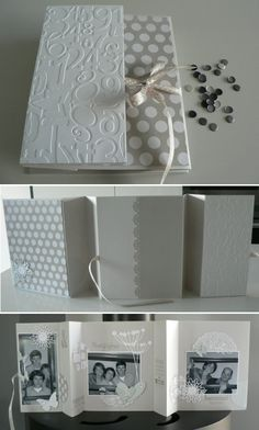 1 best images about Mini album photo on Pinterest | Simple, Minis and In french