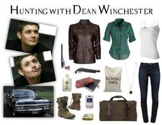 Hunting with Dean Winchester