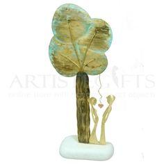 Δέντρο Της Αγάπης Με Ζευγάρι Σε Βότσαλο artistegifts επιχειρηματικά δώρα
