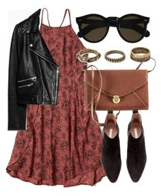 Untitled #4996 by laurenmboot on Polyvore featuring polyvore, fashion, style, Abercrombie & Fitch, MANGO, H&M, Forever 21 and Beau Coops