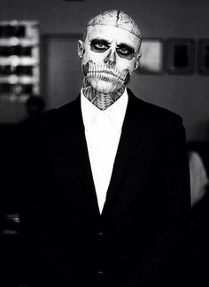 Rick Genest you beast, the most tattooed man alive
