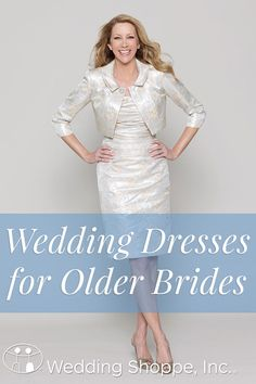 16 Wedding Dresses for Older Brides