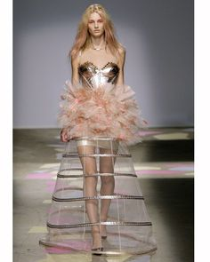 Giles S/S 2010 cage skirt