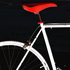 Bike In Black White And Red