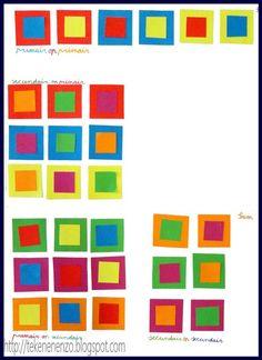 Tekenen en zo: Lesje over kleuren 2