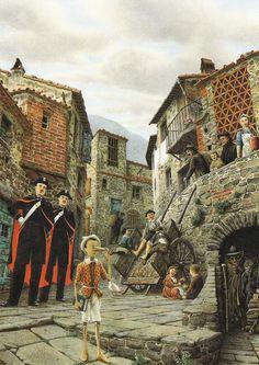 "Roberto Innocenti «Приключения Пиноккио» | ""Картинки и разговоры"""